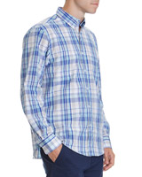 aqua Regular Fit Long Sleeve Check Shirt