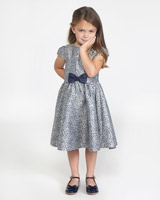 navy Paul Costelloe Living Chloe Dress
