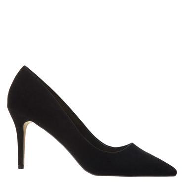 blackMid-Heel Court Shoe