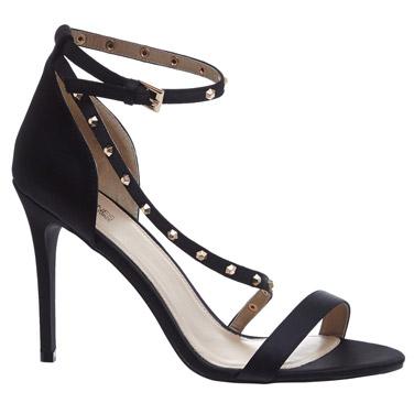 blackStud Strap Sandal
