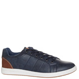 navy Casual Trainer