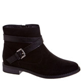 black Older Girls Ankle Boots
