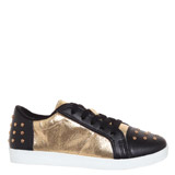 gold Older Girls Metallic Shoe