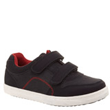 black Boys Casual Strap Shoe