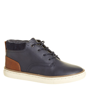 3057ba72617b navy Boys Ankle Boots
