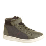 khaki Boys High Top Shoes