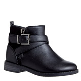 black Younger Girls Ankle Boots