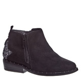 black Younger Girls Western Boots