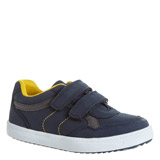 navy Baby Boys Strap Shoes