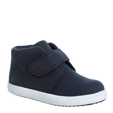 f24d60217102 navy Baby Boys Strap Ankle Boots