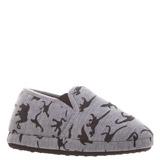grey-marlBoys Print Slippers