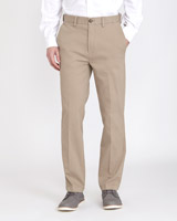 caramel Regular Fit Premium Stretch Chinos