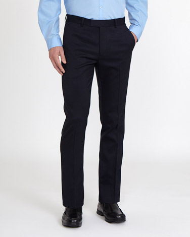 navy School Stretch Trousers