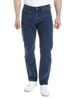 medium-denim Regular Fit Denim Jeans