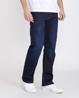 dark-wash Bootcut Stretch Denim Jeans