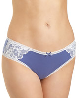 blue So Soft Hipster Briefs