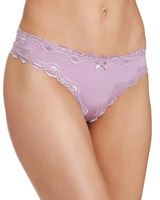 lavenderLace Trim Thong