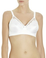 white Firm Bra