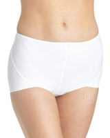 white Medium Control No VPL Knickers