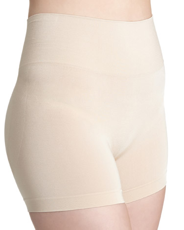 341055b1b nude Medium Control Seamfree Shorts