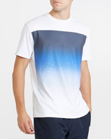 white Graphic Sublimation Print T-Shirt