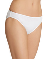 white Plain High-Leg briefs - Pack of 5