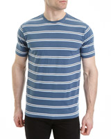 denim Regular Fit Stripe T-Shirt