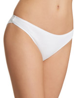 white Plain Mini Briefs - Pack of 5