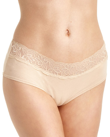nude Lace Shorts - Pack of 5