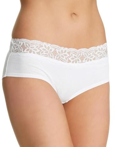 whiteLace Shorts - Pack of 5