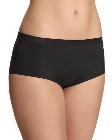 black Miracle High Rise Briefs