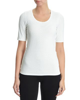 ivory Thermal T-Shirt