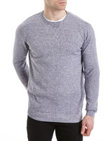 plum Regular Fit Crew Neck Cotton Jumper