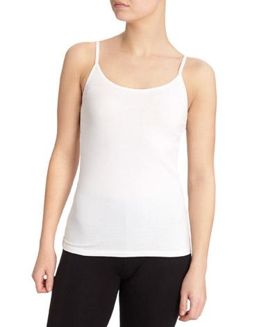 whiteCotton Vest