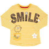 ochre Toddler Smile Long Sleeve Top