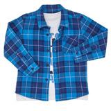 blueToddler Blue Shirt Set