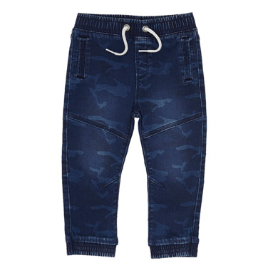 2cae84ce7059 denim Toddler Camo Knit Joggers