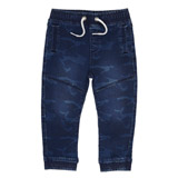 denim Toddler Camo Knit Joggers