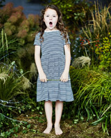 stripe Leigh Tucker Willow Irene Dress