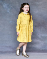ochre Leigh Tucker Willow Penney Cord Dress