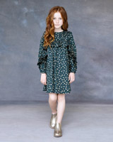 green Leigh Tucker Phoenix Dress