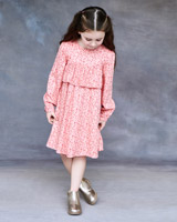 pink Leigh Tucker Willow Penelope Dress