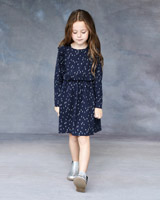 navy Leigh Tucker Willow Pia Dress