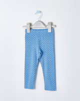 blue Leigh Tucker Willow Flora Bow Leggings