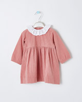 pink Leigh Tucker Willow Olive Woven Dress