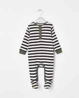 charcoal Leigh Tucker Willow Drea Sleepsuit