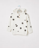 cream Leigh Tucker Willow Dale Hoodie
