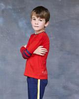 redLeigh Tucker Willow Harvey Printed Long Sleeve Top
