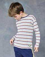 greyLeigh Tucker Willow Hunter Yarn Dyed Long Sleeve Top