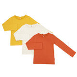 stone Toddler Rib Tops - Pack Of 3